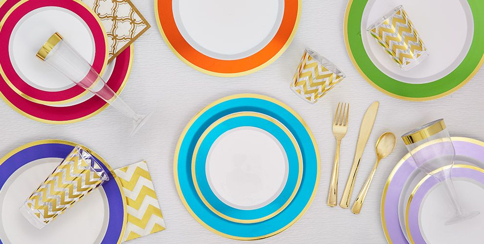 Premium Tableware | Party City