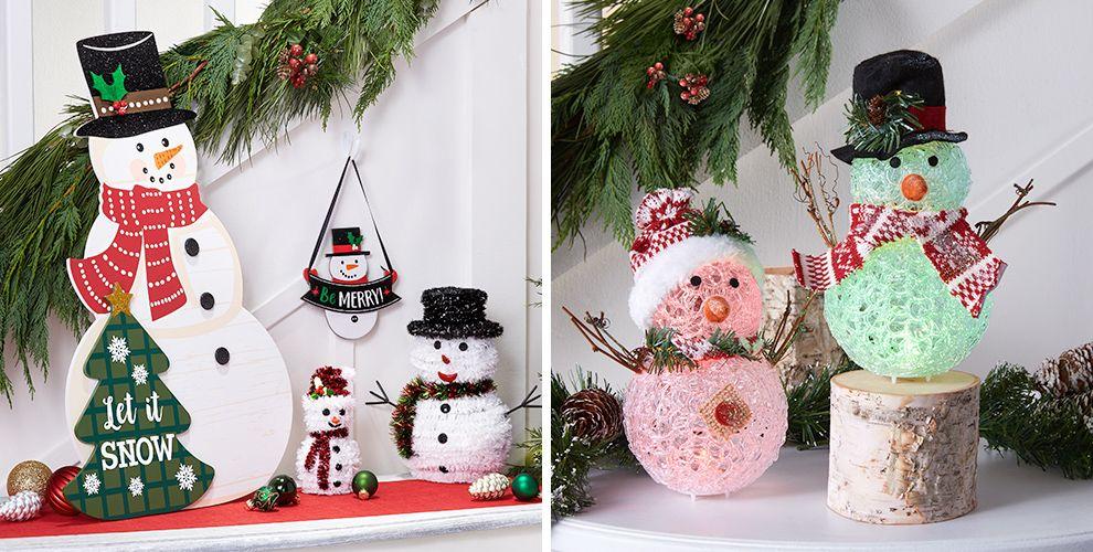 Snowman Theme Party
