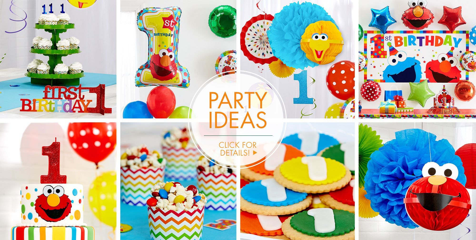 Elmo First Birthday Party Ideas