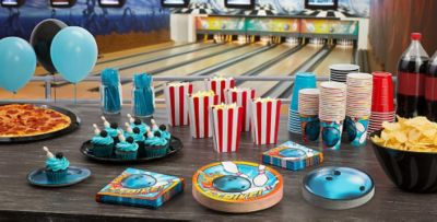 Bowling Party Supplies Bowling Birthday Party Supplies Party City