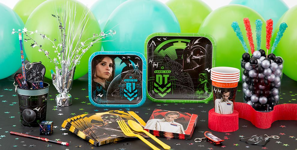 Star Wars - Rogue 1 50% off Patterned Tableware MSRP