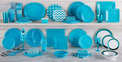 Caribbean Blue Tableware ...  sc 1 st  Party City & Caribbean Blue Tableware - Caribbean Blue Party Supplies | Party City