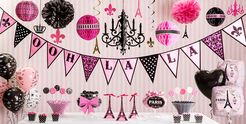 A Day in Paris Party Supplies | Party City