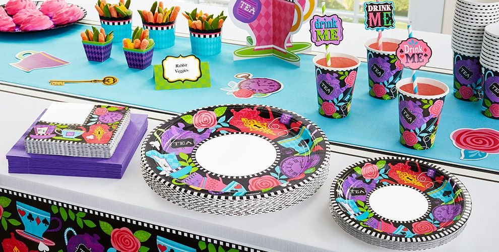 Mad Hatter Theme Party