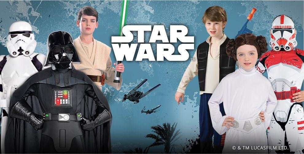 Classic Star Wars Costumes & Accessories