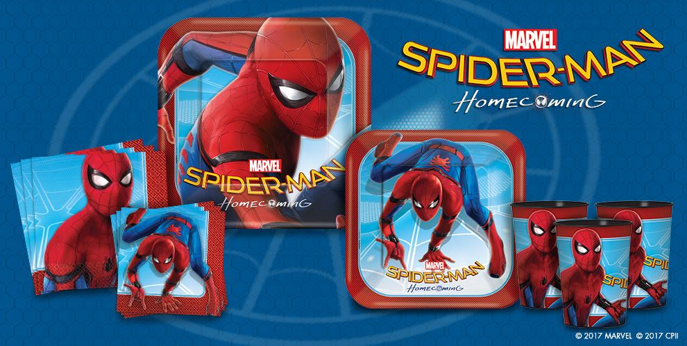 Spider-Man Homecoming Party Supplies