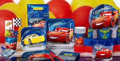 Disney Cars Party Supplies Cars 3 Birthday Ideas Party City