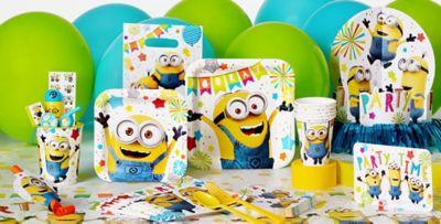 Despicable Me Party Supplies  sc 1 st  Party City & Despicable Me Minions Party Supplies - Minions Birthday Ideas ...