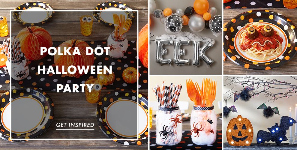 Polka Dot Halloween Party Supplies – Party Ideas