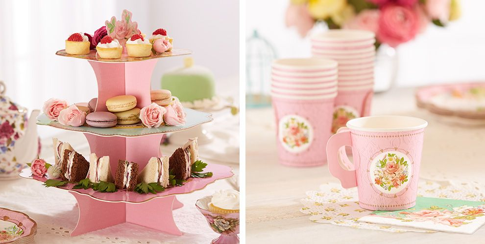 Floral Tea Party Supplies