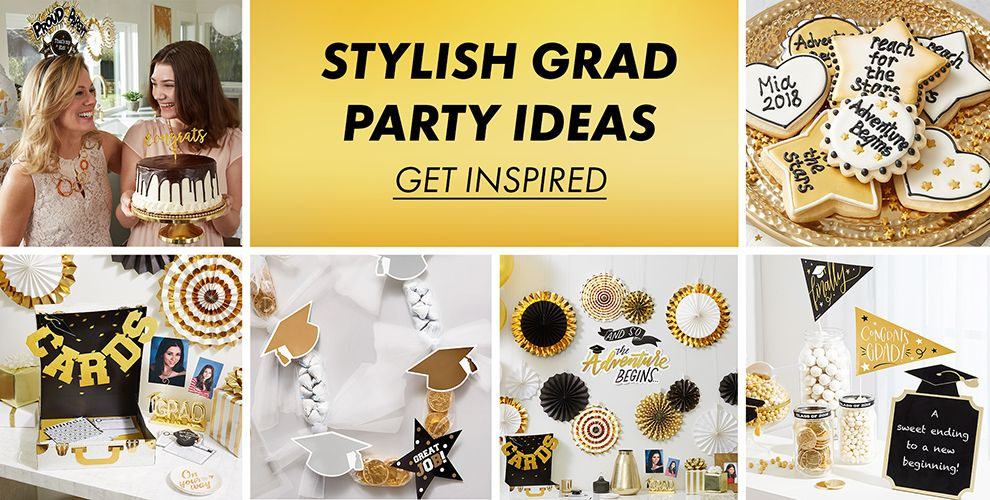 11 Ideas For A Stylish Graduation Party