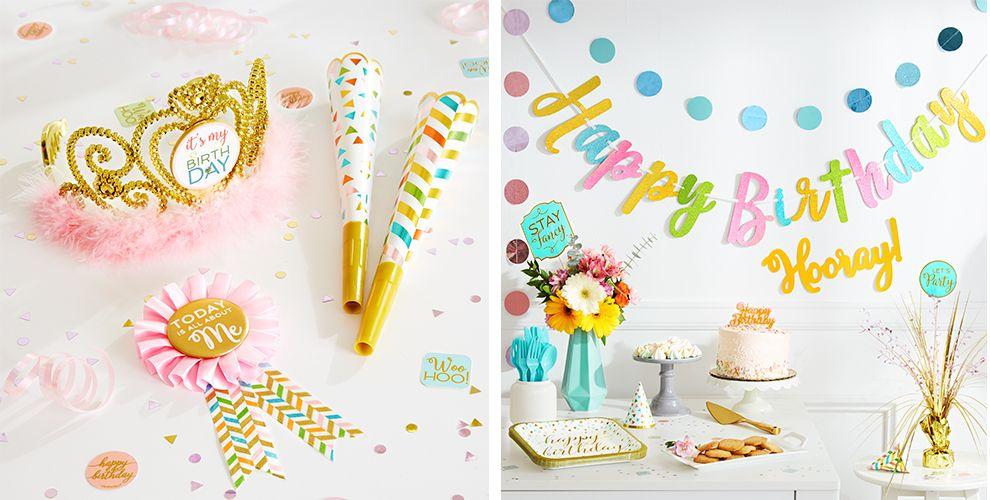 Confetti Fun Birthday Party Supplies