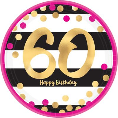 60th Birthday Party Supplies - 60th Birthday Ideas