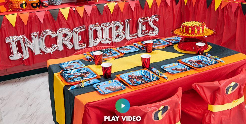 Incredibles Tableware