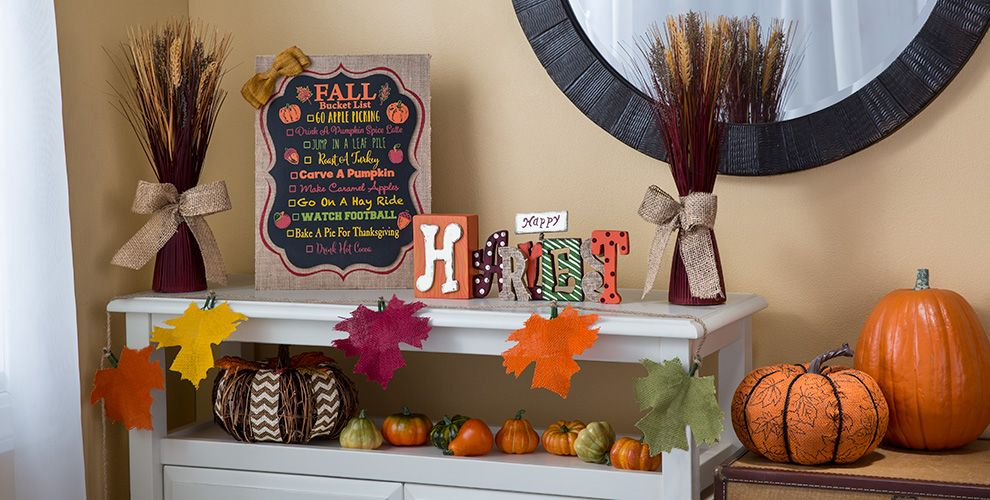 Thanksgiving home decor party city