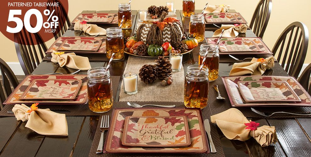 Autumn Traditions Party Supplies