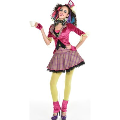 Adult Girls Teatime Mad Hatter Costume Party City