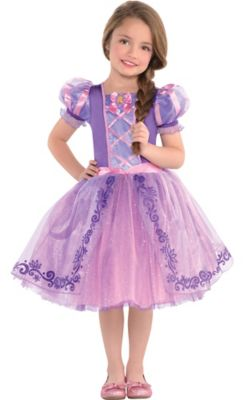 Girls Rapunzel Costume   Tangled   Size   3 4T