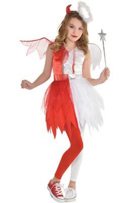 Kids Children Naughty Babies Grandma Costumes Fancy Dress Accessories