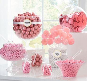 Light Pink Candy Buffet