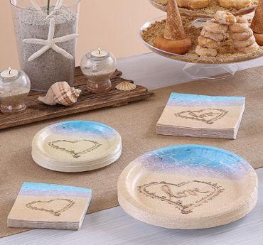 Beach Love Bridal Shower Party Supplies