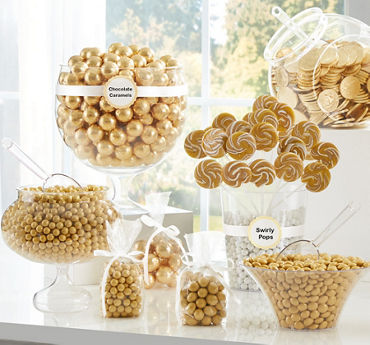 Gold Candy Buffet
