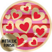 heart of gold valentines day party supplies