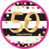 50th birthday party themes supplies 50th birthday party ideas pink and gold 50th birthday party supplies altavistaventures Gallery