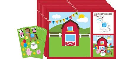 Farmhouse Fun Activity Kits For 8
