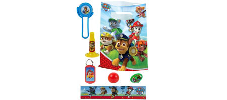 Paw Patrol Basic Favor Kit For 8 Guests
