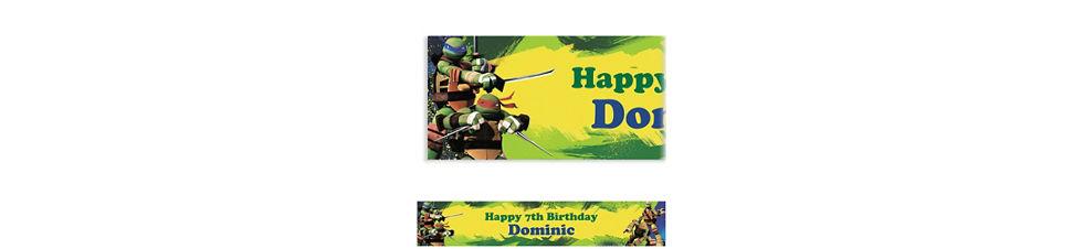Custom Teenage Mutant Ninja Turtles Banner 6ft