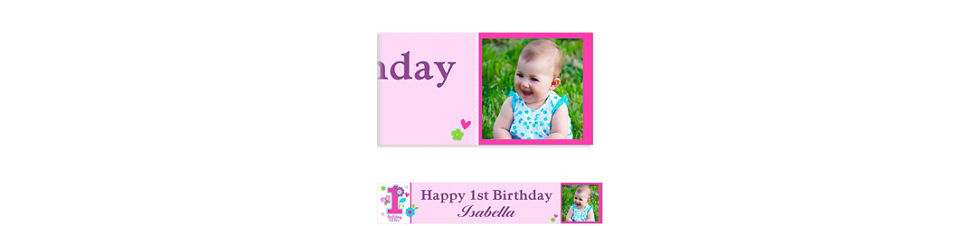 custom sweet birthday girl banner 6ft party city