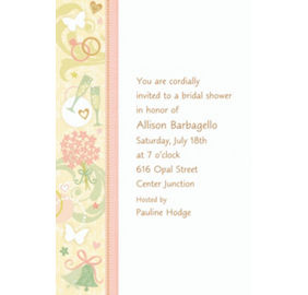 Custom tying the knot bridal shower invitations party city custom tying the knot bridal shower invitations stopboris Images