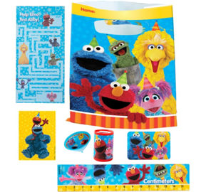 Sesame Street Coloring & Activity Book | Party City