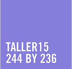 Tinsel Turquoise Star Tiara