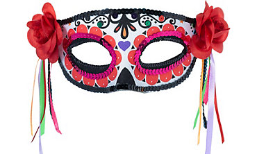 Day of the dead costumes day of the dead halloween for Day of the dead body jewelry