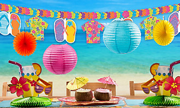 Summer Party Hanging Decorations Banners Amp Cutouts