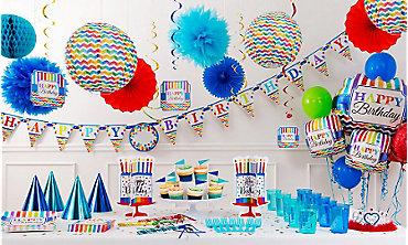 Happy Birthday Balloons With Names ~ Happy birthday decorations birthday decorations party city