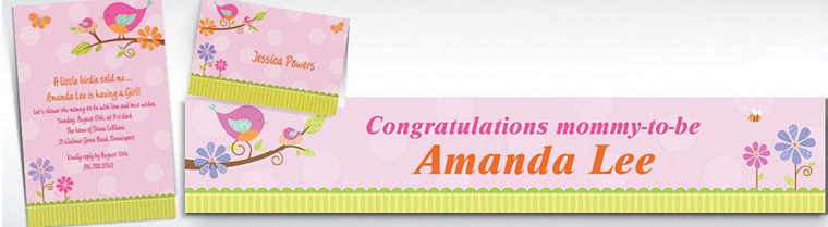 Custom Baby Shower Invitations For Girls Party City Canada