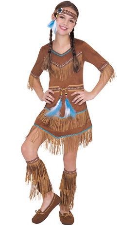 Pilgrim costumes pilgrim hats thanksgiving costumes party city girls dream catcher cutie native american costume solutioingenieria Gallery