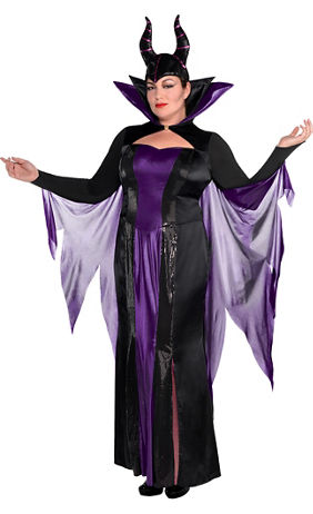 adult maleficent costume couture plus size sleeping beauty