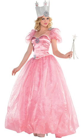 Adult Wizard of Oz Glinda Costume | Party City