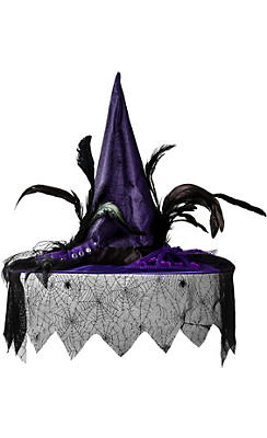Witch Costume Accessories - Witch Hats, Shoes & Brooms   Party City