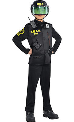 Police costumes sexy cop costumes for women party city boys swat cop costume solutioingenieria Images
