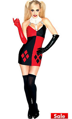 Womens superhero costumes superhero costume ideas party city adult sexy harley quinn costume batman solutioingenieria