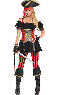 Pirate costumes for women sexy pirate costume ideas party city adult lassie lady pirate costume solutioingenieria Gallery