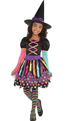 Witch Costumes for Girls - Kids Witch Costumes | Party City