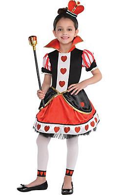 Alice in wonderland costumes alice in wonderland costume ideas toddler girls queen of hearts costume solutioingenieria Gallery