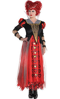 Alice in wonderland costumes alice in wonderland costume ideas adult red queen costume alice through the looking glass solutioingenieria Choice Image