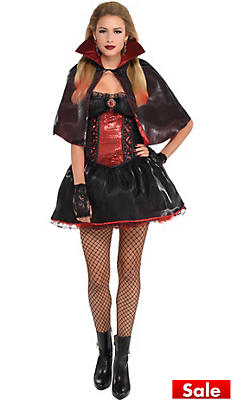 Sexy Vampire Costumes for Women - Vampire Halloween Costumes ...